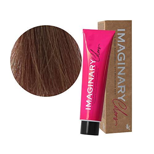 Tinte pelo mujer profesional, Coloración permanente, 100 ml (Castaño claro tierra irisado 5-92)