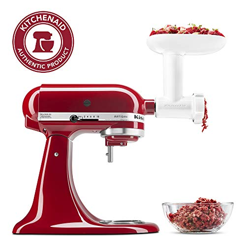 KitchenAid KSMFGA Food Grinder Attachment, One Size, Wh