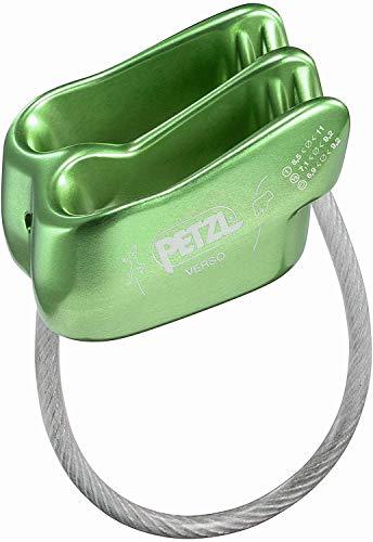 PETZL Verso Lightweight Belay/Rappel Device, Green