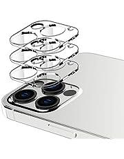 EGV [3-pack kameralinsskydd för iPhone 12 Pro Max (6,7tum), ultratydligt tunt härdat glas skärm [bubbelfri] [fodralvänlig] kameralins skydd fullständigt repskydd för iPhone 12 Pro Max