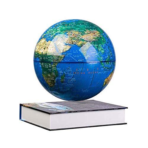 CCAN Huhn Globo de levitación magnética Flotante Mapa del Mundo Anti-Gravedad Bola de Tierra levitante giratoria Gadgets de tecnología Fresca Regalos para el hogar
