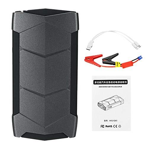Huante 12000MAh 2 USB 12V Refuerzo de Paquete de Inicio de Salto de Coche Cargador LED Banco de EnergíA de la BateríA