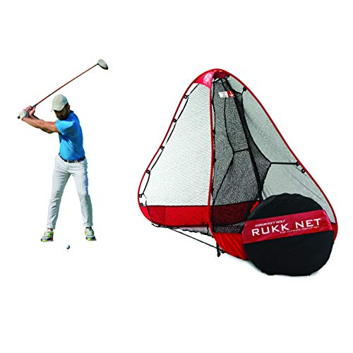 Rukket 10x7ft Pop Up Golf Net | Orginal Rukknet | Practice Driving Indoor...