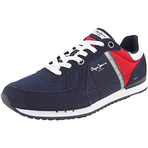 PEPE JEANS TINKER ZERO Sneakers heren Marine Lage sneakers