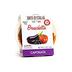 ORTI D'ITALIA Caponata Bruschetta, 5.1 oz