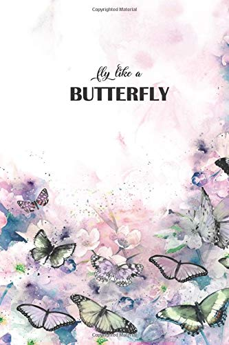 Fly like a Butterfly: Butterfly Digital Paint Journal (Diary, Notebook)100 Pages, 6X9