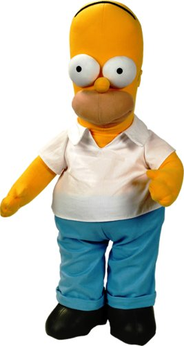 United Labels 1000036 - Plüschfigur, The Simpsons, Homer