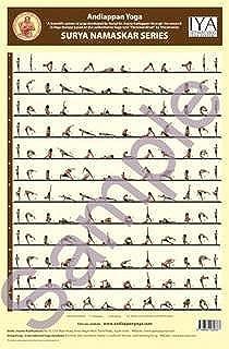 Surya Namaskar (Sun Salutation Series)- Colour Wall Chart (Andiappan Yoga - Sun Salutation Series Wall Chart)