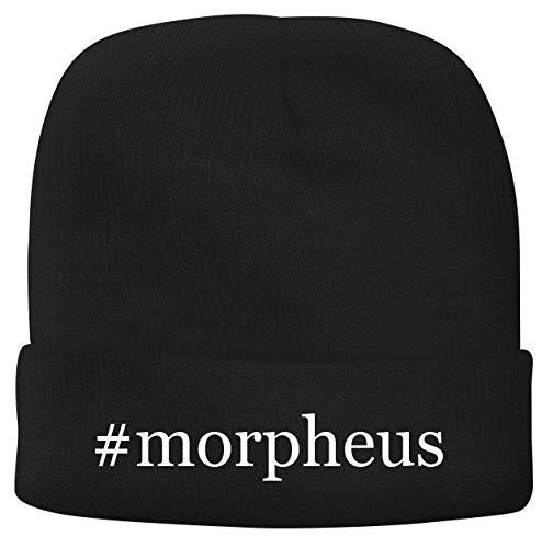 BH Cool Designs #Morpheus - Men's Hashtag Soft & Comfortable Beanie Hat Cap, Black, One Size
