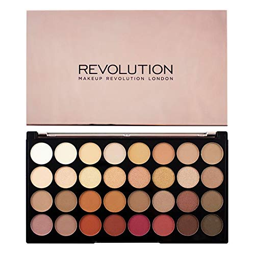 Makeup Revolution Eyeshadow Palette, Resurrection Flawless 3, Face Make Up, Compact Eye Shadow Palette by Revolution Beauty