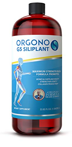 Orgono G5 Siliplant | Vegan Collagen Booster | Supports Healthy Collagen and Elastin Production for Joint & Bone Support, Glowing Skin, Strong Hair & Nails.