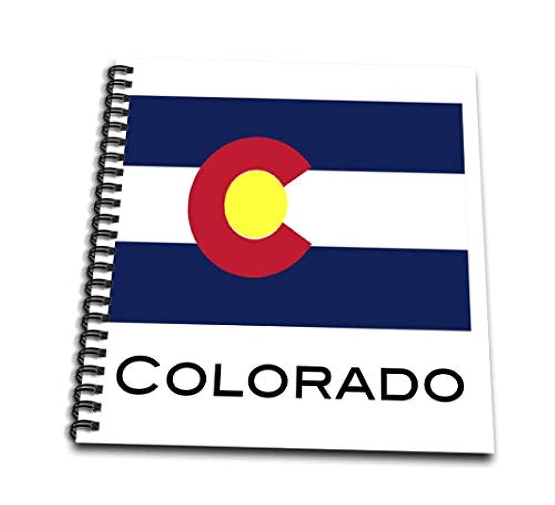 3dRose db_107356_2 Colorado State Flag-Memory Book, 12 by 12