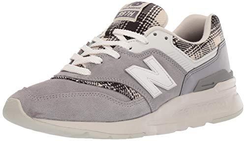 New Balance 997h, Zapatillas para Mujer, Gris (Grey/Black Grey/Black), 36.5 EU
