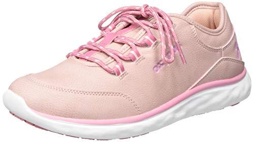 Oxypas 'Patricia' Leichte, bequeme Profi-Schuhe mit Memory-Schaumstoff-Einlegesohle, Anti-Rutsch-SRC und Antistatisch ESD (Größe 40), Pink