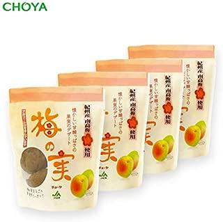 チョーヤ 甘漬け梅の実 (200g×4袋)