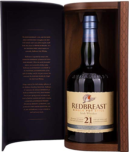 Redbreast 21 Year Old Single Pot Still Whisky, 70 cl