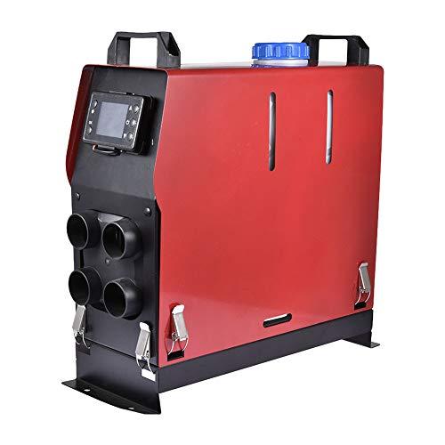 OneV FT Luft Diesel Heizung Air Standheizung 5KW 12V Kraftstoff Auto Heizung Lufterhitzer Aluminiumgehäuse, mit Fernbedienung, LCD Monitor für RV, Boote, LKW, Wohnmobil Anhänger (12 V)