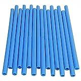 XER 16 STÜCKE Bounce Trampolin Pole Schwammrohr Schaumstoffhülsen Schutzabdeckung Ersatzschutzstangen Ersatzzubehör für Trampolinrohr