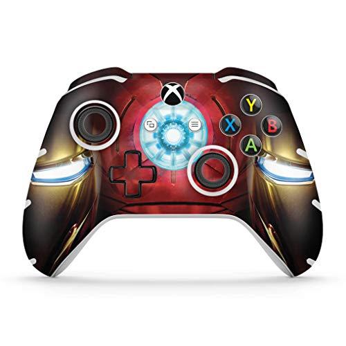 Skin Adesivo para Xbox One Slim X Controle - Iron Man - Homem De Ferro