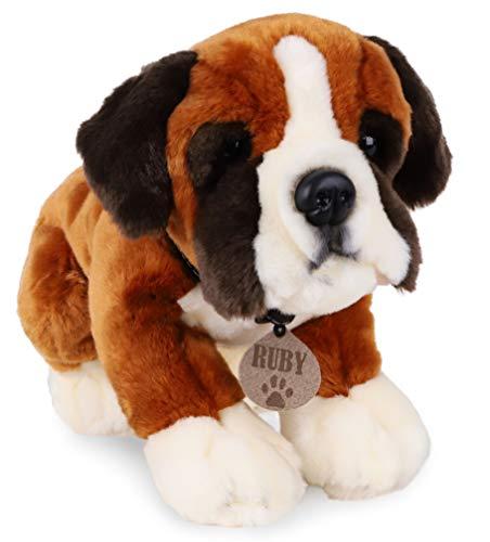 TOYLAND 35cm Keel Toys Plush Dog - Juguetes Blandos para niños - Exclusivo (Ruby el Boxeador)