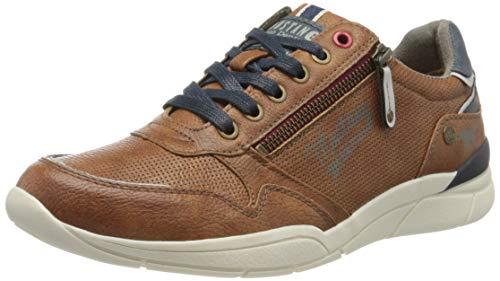 MUSTANG Herren 4138-306 Sneaker, Braun (Cognac 307), 41 EU