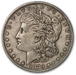 Gorgeous 1883-CC Morgan Silver Dollar!!