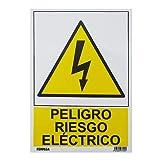Wurko - Cartel'Peligro Riesgo Eléctrico' 29,7 x 21 cm