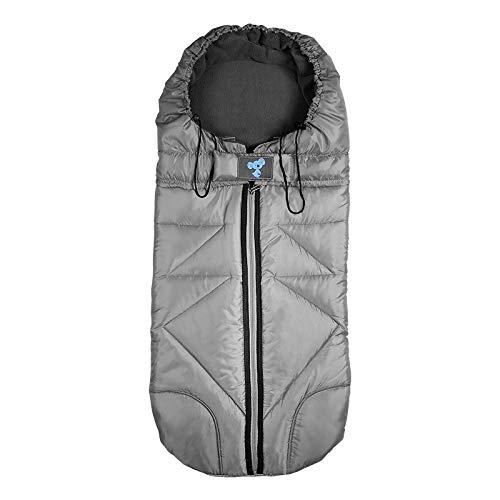 Lemonda Winter Outdoor Tour Waterproof Baby Infant Stroller Sleeping Bag Warm Footmuff Sack,Anti-Kicking Sleeping Nest,Wearable Stroller Blanket (Grey)