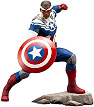 ARTFX+ Marvel Universe Capitán América (Sam Wilson) 1/10 Kit de Montaje fácil