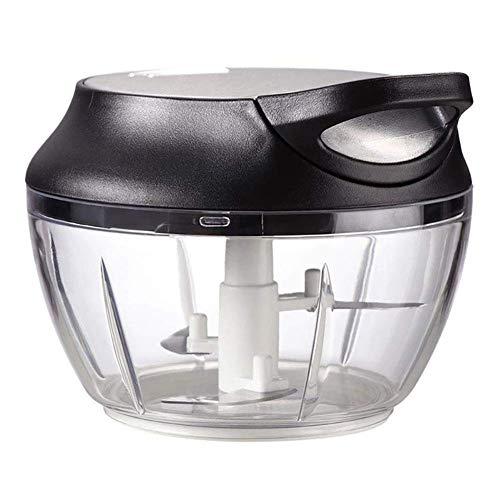 DYB Lebensmittel-Zerkleinerer und Mixer, Gemüse-Zerkleinerer, manuelle Kochmaschine, Multifunktions-Haushaltsgerät, klein, kreatives Füllen, Rührwerk, Knoblauchmühle