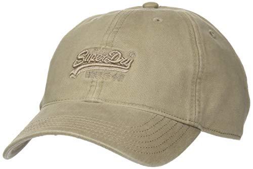 Superdry Mens Orange Label Cap, Combat Brown, One Size