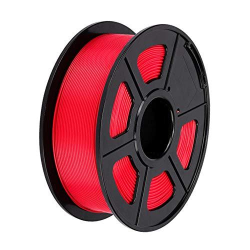 PLA + filament 1.75mm, 3D printer filament 1kg, tougher than ordinary PLA-Red