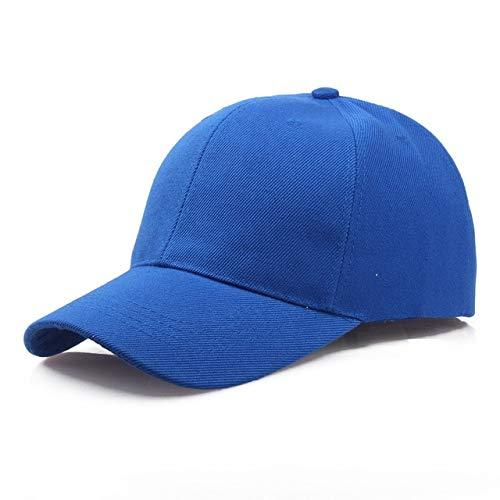 Black Cap Solid Color Baseball Cap Snapback Caps Casquette Hats Fitted Casual Gorras Hip Hop Dad Hats For Men Women Unisex-blue