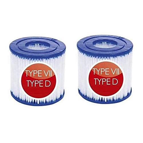 JSHN - Cartuchos de filtro para piscina Bestway tipo VII e Intex...