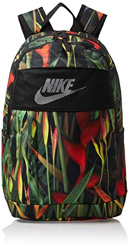 Nike Unisex_Adult CN5164-011 Daypack, Black/Red/White, One Size
