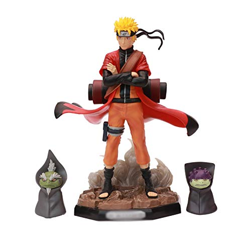 Anime Naruto Uzumaki Sen-Nin Sennin Moodo Figura Juguetes PVC Figura De Colección Modelo De Juguete 22Cm Bxoed