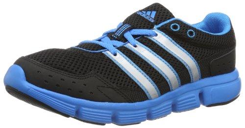 adidas Performance Breeze 101 W D67059, Damen Sportschuhe - Fitness, Schwarz (BLACK 1 / SOLAR BLUE S14 / SOLAR MET. S14), EU 39 1/3
