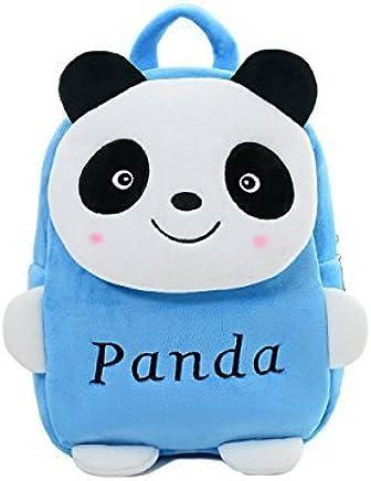 Frantic Velvet Kids School/Nursery/Picnic/Carry/Travelling Bag - 2 to 5 Age (SkyBlue Panda)