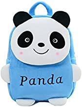 Frantic Velvet Kids School/Nursery/Picnic/Carry/Travelling Bag - 2 to 5 Age (SkyBlue Panda)