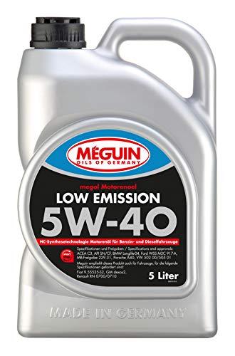 Meguin 6574 Megol Motoröl Low Emission SAE 5W-40, 5 L