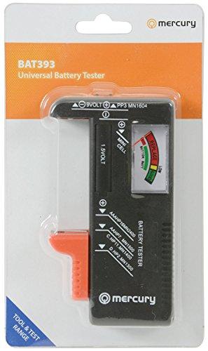 AirPromise Probador universal de batería para pilas AAA, AA, C, D y Botton, 1.5V, 9V, Comprobador de voltaje de batería para reciclar baterías (BT-168)