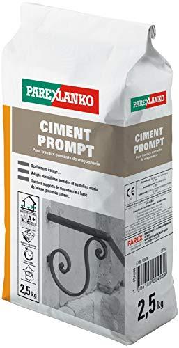 Parexlanko, Ciment Prompt, Mortier à prise rapide, 2,5kg