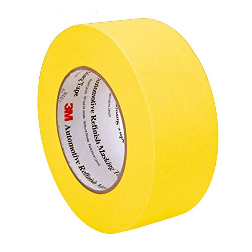 3M Automotive Refinish Masking Tape, 06656, 48 mm x 55 m