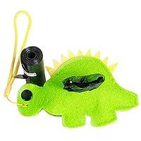 ペット犬の袋ディスペンサーのごみ袋袋のキャリアディスペンサーペット犬のふん袋犬のクリーニング 製品 みどり