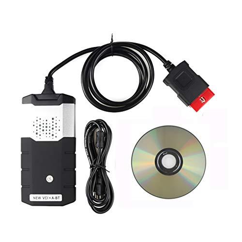 hanyaqi Allgemeines Professionelles Scanner-Diagnosetool Für Fahrzeuge, Hochpräziser Fehlercodeleser, OBD2-Diagnosegerät Mit Bluetooth