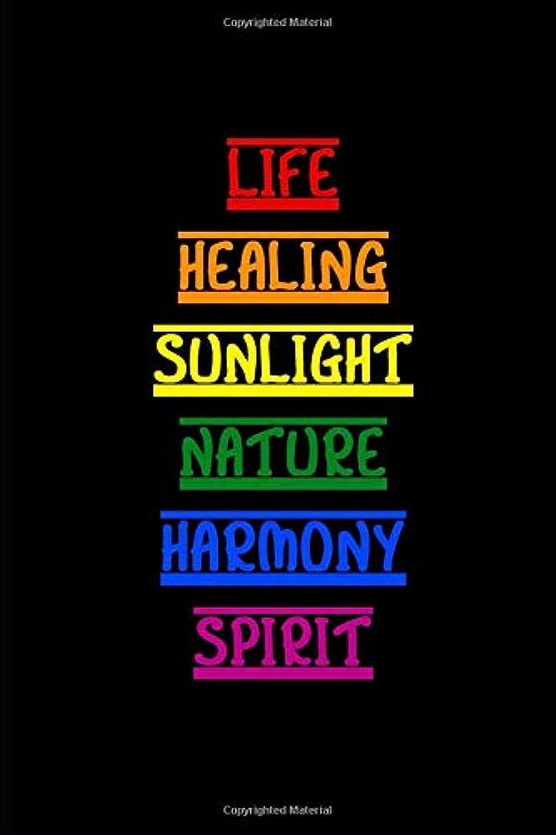 アルファベット順ディーラー計算Rainbow Words: LGBTQ Themed Notebook Journal