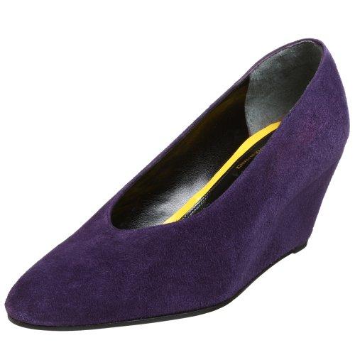 Robert Clergerie Women's Astuce Pump,Purple,10 B