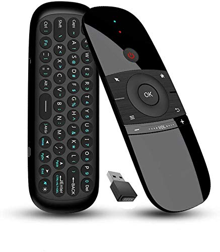 Air Mouse Remote 2.4GHz Portable Wireless Mouse and Keyboard Compitable with Android TV Box, Smart...
