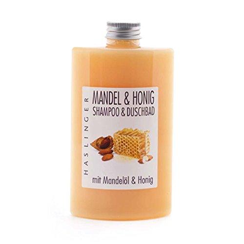 Mandel - Honig Duschbad Shampoo mit echtem Honig und Mandelöl Badezusatz 200 ml