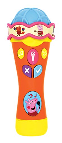 Peppa Pig none PP07 Singalong & Learn Microphone, Multi